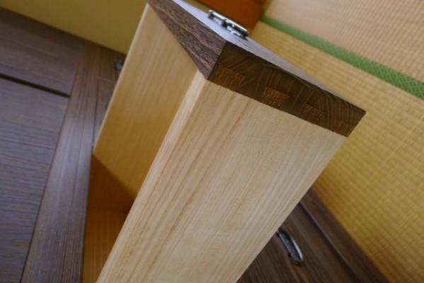 総桐焼桐盆六衣装箪笥の小引出しの蟻組み