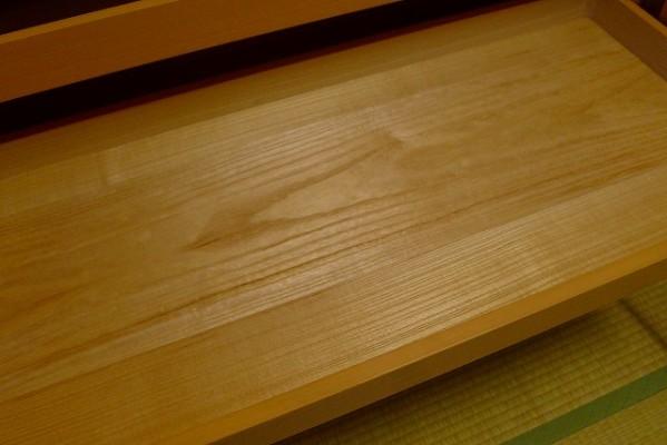 大阪泉州桐たんす焼桐柾目小袖衣装たんすの美しい桐材