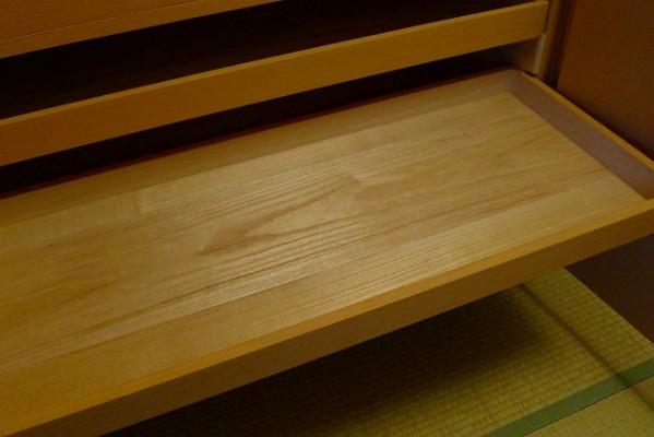 大阪泉州桐たんす焼桐柾目小袖衣装たんすのお盆