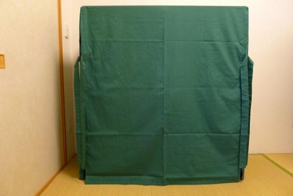 大阪泉州桐たんす焼桐柾目小袖衣装たんすの油単