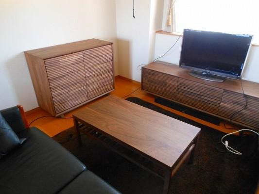 カリモク家具のQT6037XR-A QT3535R000 TU3605XRです。