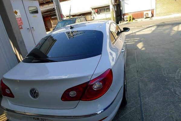Volkswagen CCの洗練されたリアデザイン