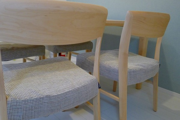 カリモク家具のダイニングチェアーCT5365P423