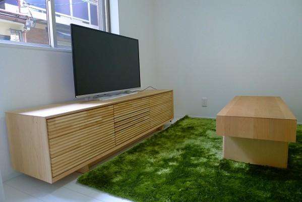 カリモク家具のソリッドボードのQT6037P000