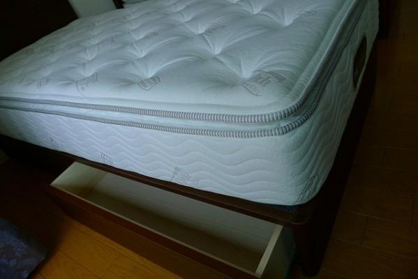 シモンズ グランサリー30 DR 引出し付 シングルベッド