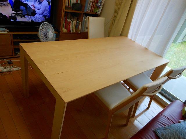 テーブルDU6115POOO、イスCU4155P561