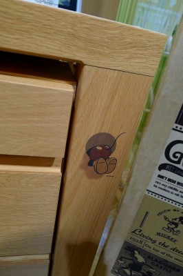 カリモクミッキーマウス新作デスク S-ST3578AE