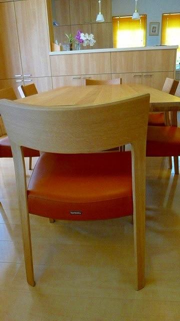 ダイニングテーブル(DD6220MS)、椅子(CU3115S499)