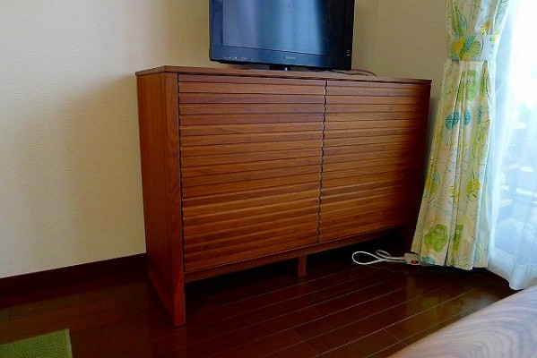 カリモク家具(テレビボードQU3870XR)