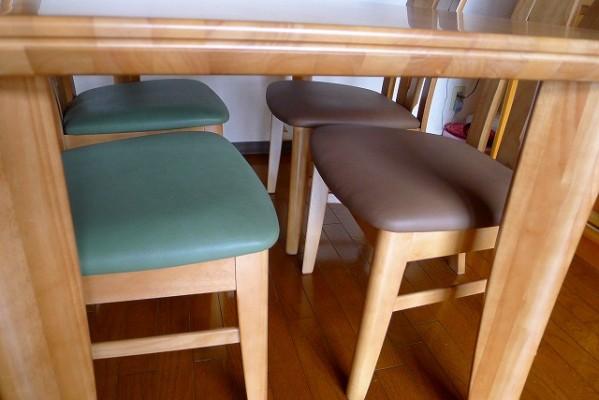 ダイニングテーブルDT8111N014、チェアCT1305
