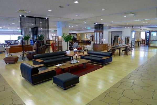 karimoku関西ショールーム5階がリニューアル。弊社も来週リニューアルします。