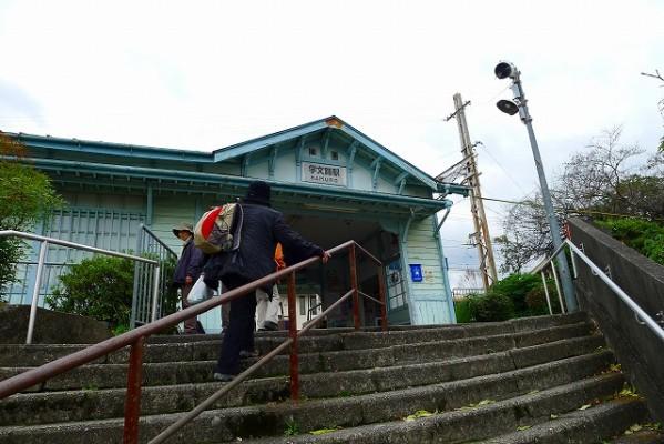 南海電気鉄道高野線の学文路駅 2