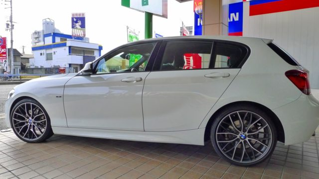 2月の桐たんすのお客様のこだわりのお車シリーズは、BMW116I Mのご紹介です。