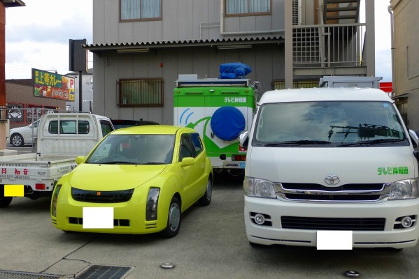岸和田テレビさんが「ビデオめい作座」の1月分の収録に、初音店に来られました。