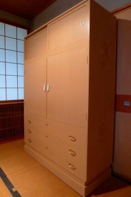 松山の桐たんすの洗い替え写真 5