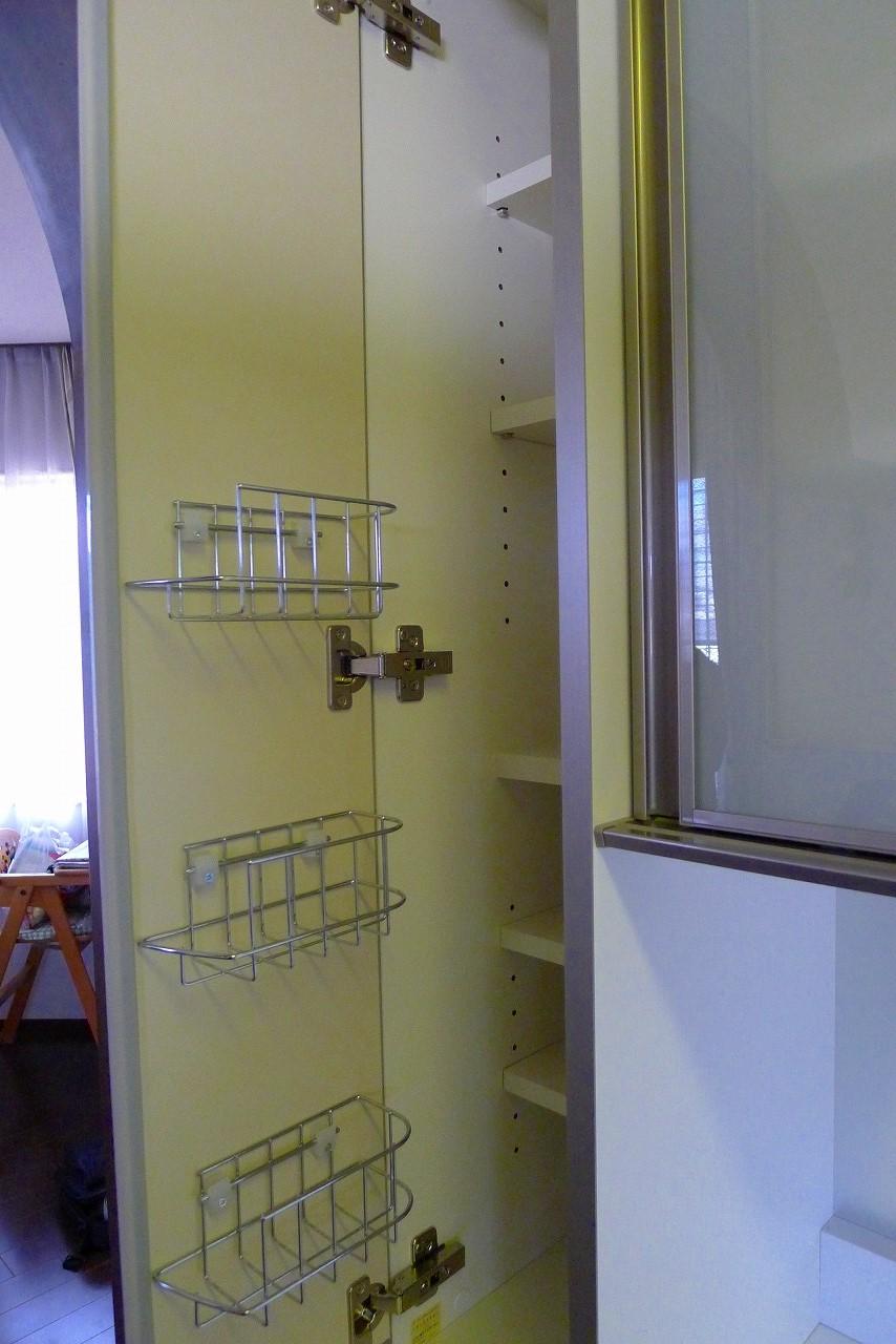 (パモウナ食器棚 品番KHR-CS1400R ダイニングボードK-6110KY)