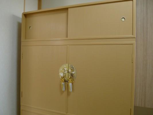 大阪泉州桐たんす すみれ型別誂え桐箪笥の上置き