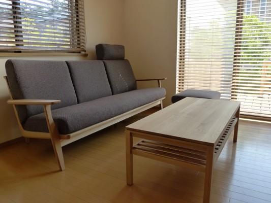 カリモク ソファー テーブル
