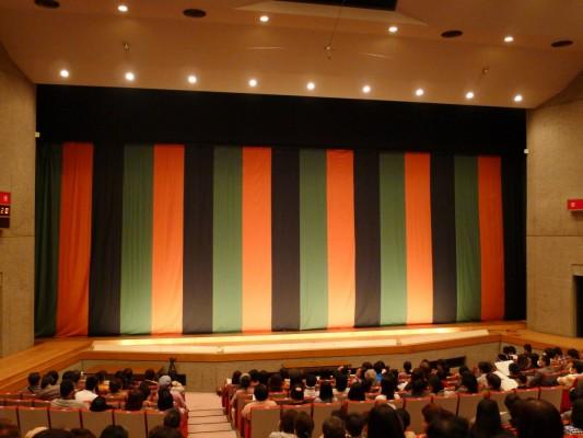 岸和田市 マドカホールの定式幕