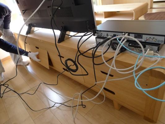 カリモクテレビボード