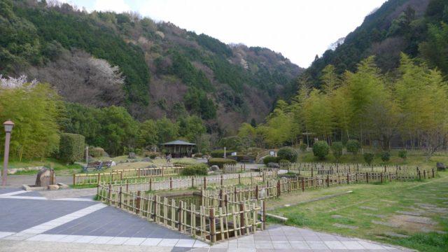 阪和自動車道下り岸和田サービスエリアの日本庭園 1