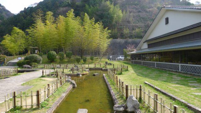 阪和自動車道下り岸和田サービスエリアの日本庭園 2