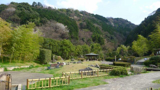 阪和自動車道下り岸和田サービスエリアの日本庭園 3