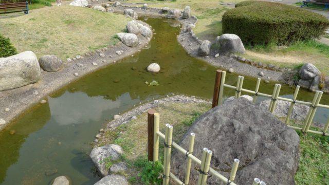 阪和自動車道下り岸和田サービスエリアの日本庭園 4