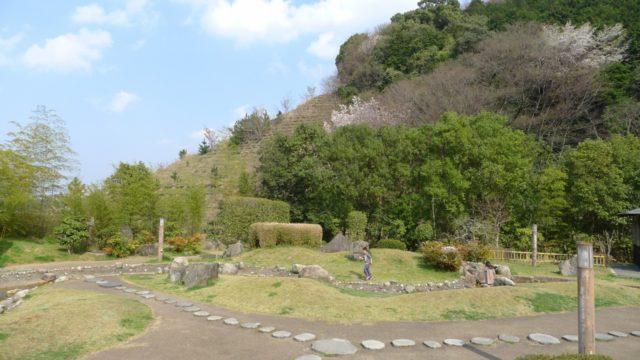 阪和自動車道下り岸和田サービスエリアの日本庭園 5