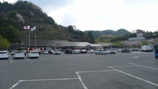 阪和自動車道下り岸和田サービスエリアの全景 2