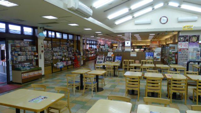 阪和自動車道下り岸和田サービスエリアの店内