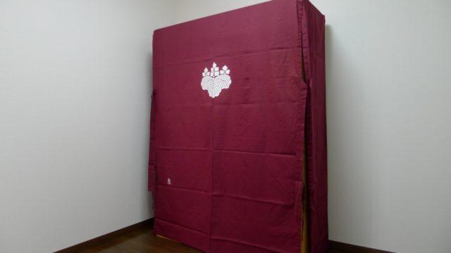 大阪泉州桐箪笥 胴丸型総桐箪笥と油単