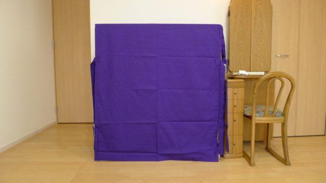 大阪泉州桐箪笥 こだわりの小袖衣装箪笥のゆたん