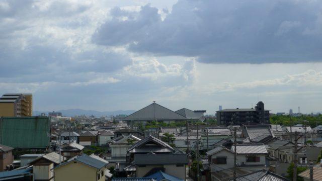 台風11号がくる前日の天気 2