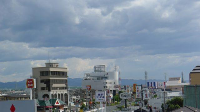 台風11号がくる前日の天気 5