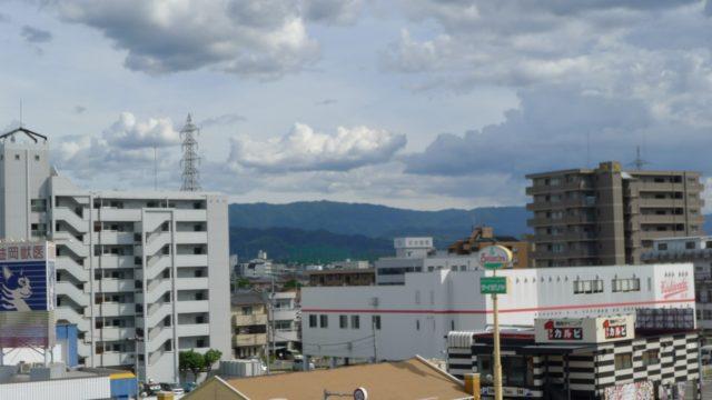 台風11号がくる前日の天気 6