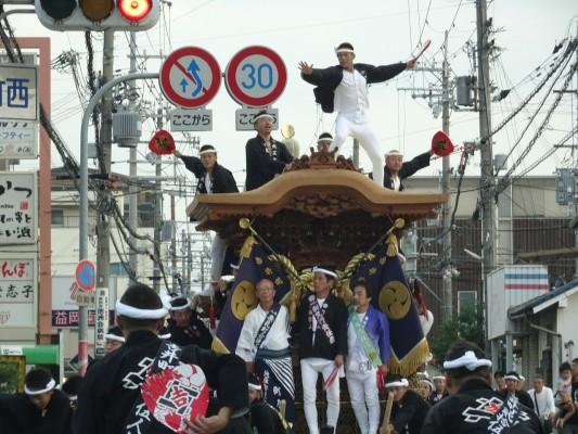 2015年 だんじり祭り