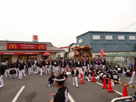 岸和田市額原町のだんじり