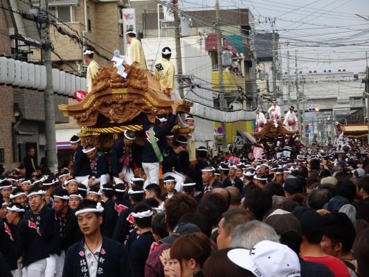 泉大津 かちあい祭
