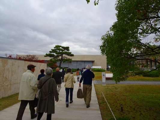 京都国立博物館 の中庭
