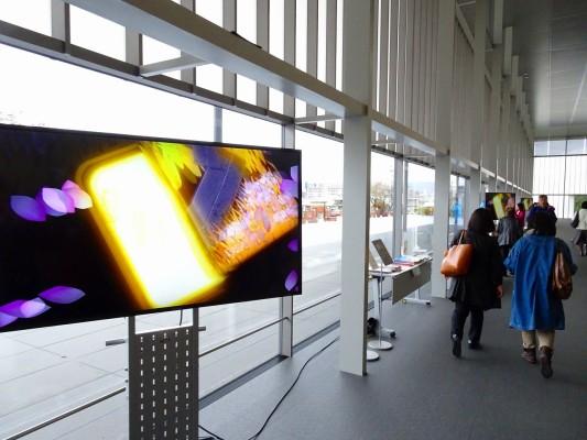 京都国立博物館 の新館内部