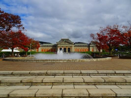 京都国立博物館 の噴水