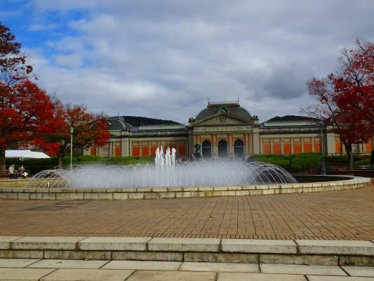 京都国立博物館 の噴水2