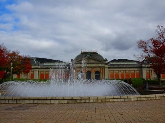 京都国立博物館 の噴水3