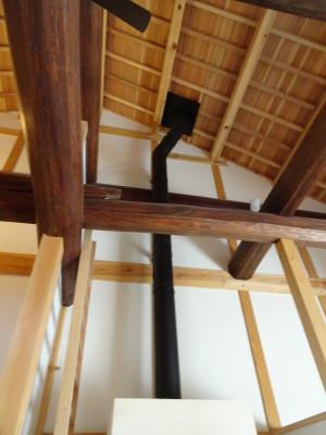 こだわりの天井と配管