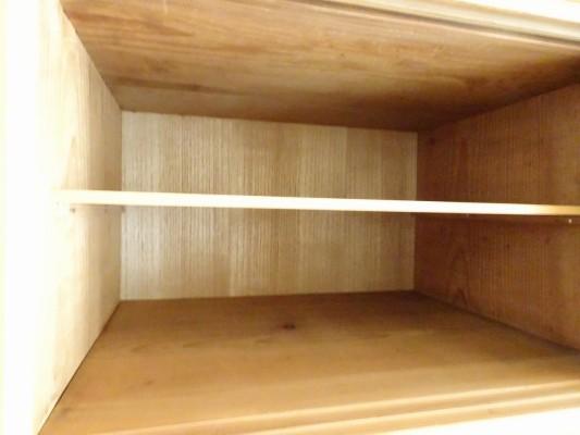 堺市のM様の桐の間箪笥の洗い修理の背板交換 完成