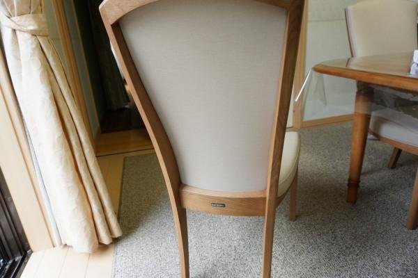 カリモク椅子