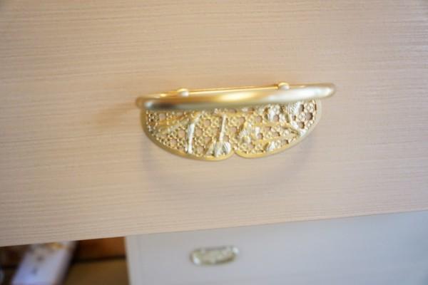 大阪泉州桐たんす天丸5段引出したんすの金具
