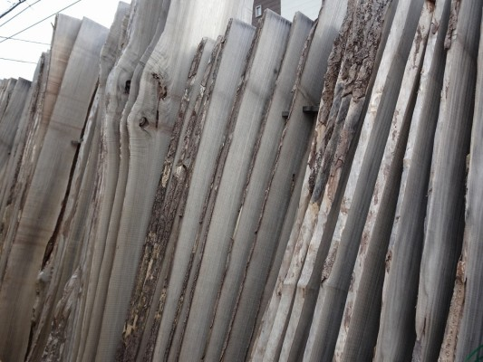 大阪泉州桐箪笥 田中家具製作所の工房のこだわりの桐材