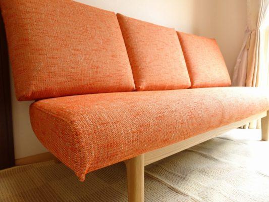 カリモク 品番:三人掛け椅子 CD5903E524